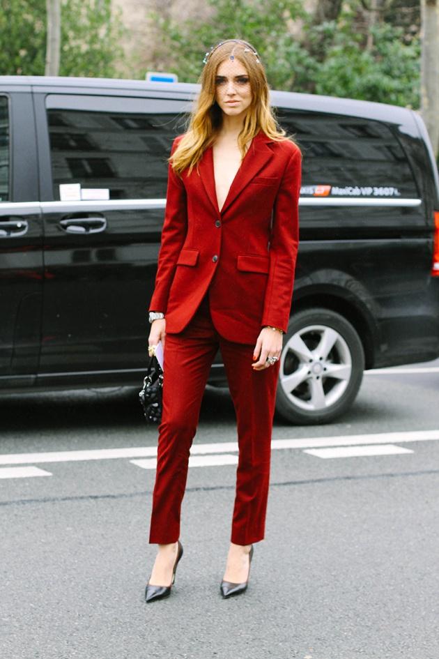 treintamasdiez blog de moda rojo teja