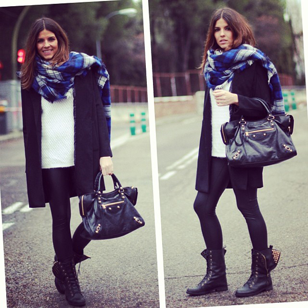 fantastic outfit bufanda azul 13