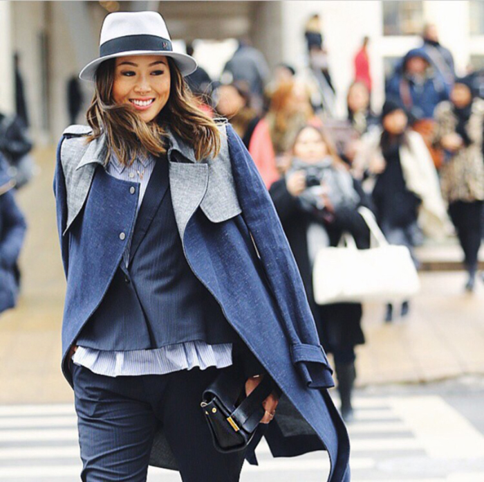treintamasdiez blog de moda aimee_song_trench_coat_maison_michele_hat