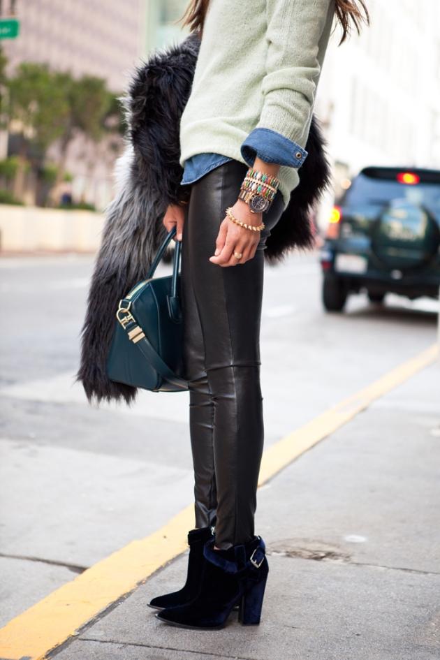 treintamasdiez blog de moda leggins cuero2