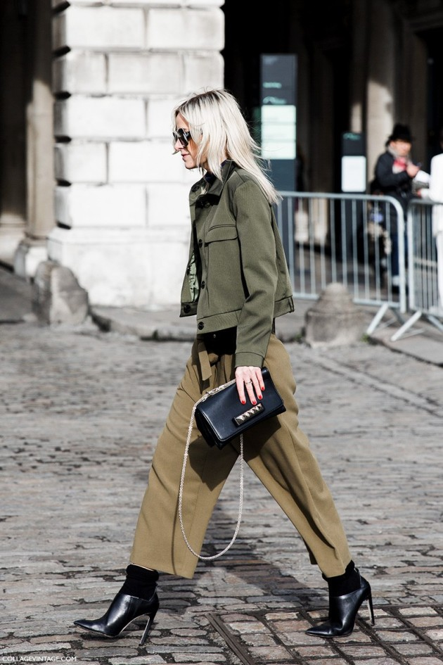 London_Fashion_Week_Fall_Winter_2015-Street_Style-LFW-Collage_Vintage-Culotte_Trousers-Military_Trend-1-790x1185