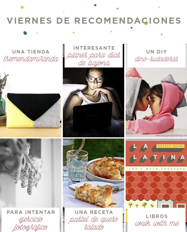 treintamasdiez blog de moda VIERNES RECOMENDACIONES