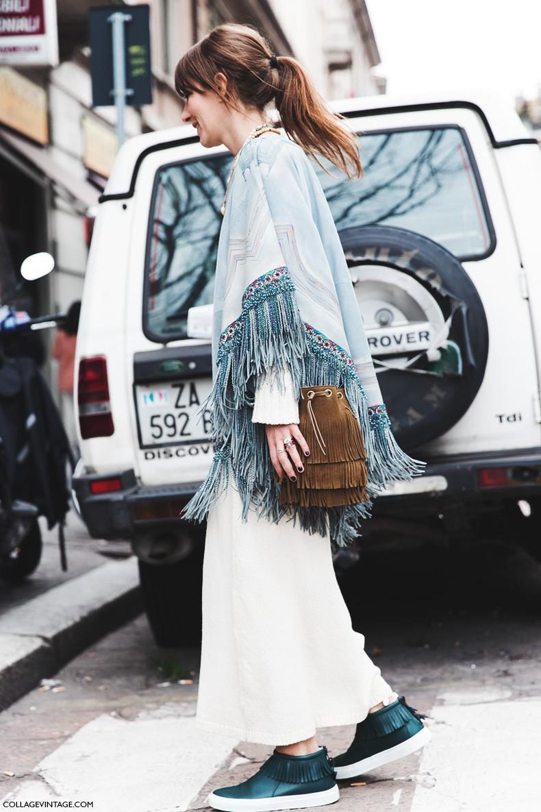 treintamasdiez blog de moda flecos Milan_Fashion_Week-Fall_Winter_2015-Street_Style-MFW-Aurora_Sansone-1-790x1185