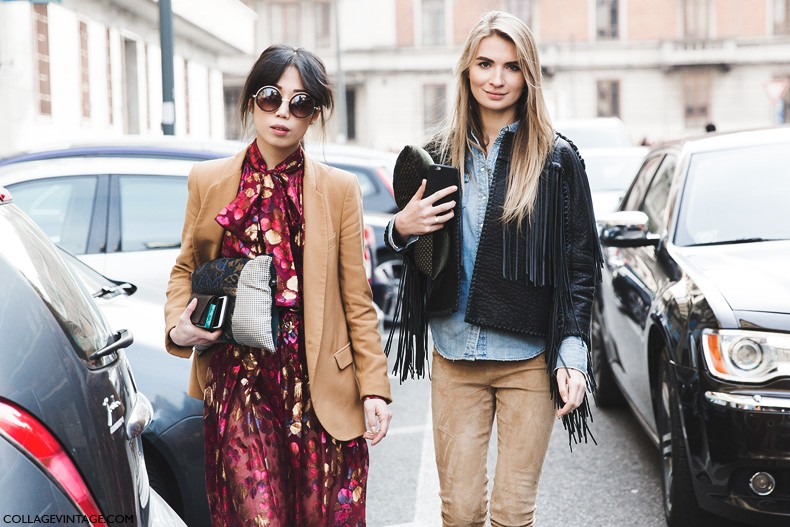 treintamsdiez blog de moda flecos Milan_Fashion_Week-Fall_Winter_2015-Street_Style-MFW-Maria_Kolosova-Oxana_On--790x527